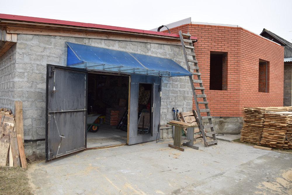 Пристроенный гараж своими руками