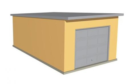Модель гаража