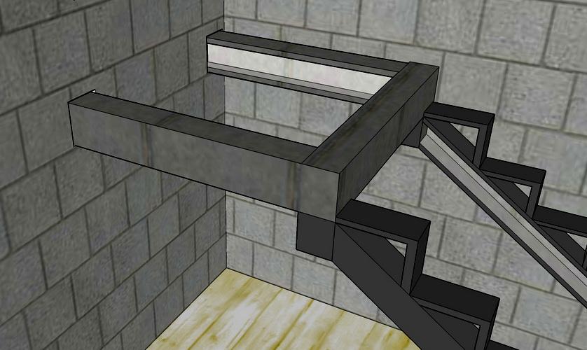 Лестничные площадки своими руками 11