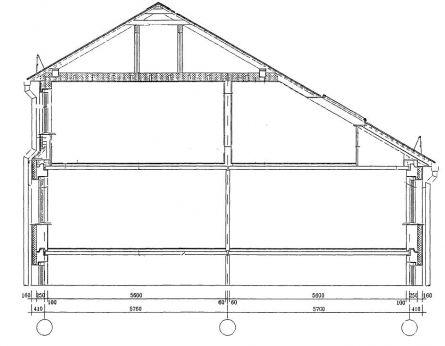 Схема комбинированной крыши: