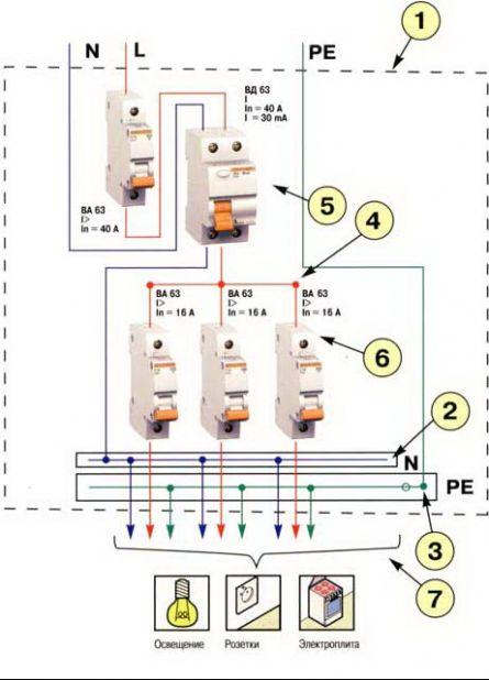 Рис. 5 Схема монтажная