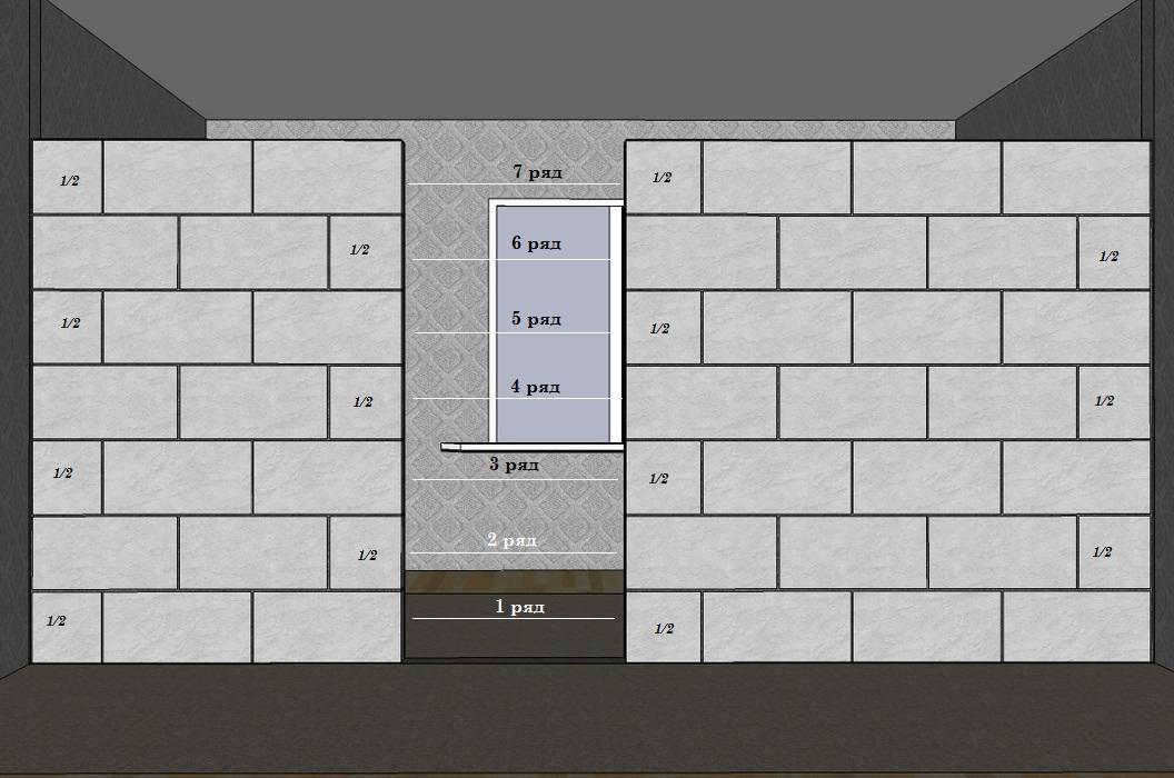 Как сделать перегородку из блоков фото 952